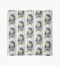 Lilac Clematis Scarf