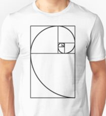Golden Ratio - Transparent Unisex T-Shirt