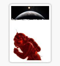 Moonscape Sticker