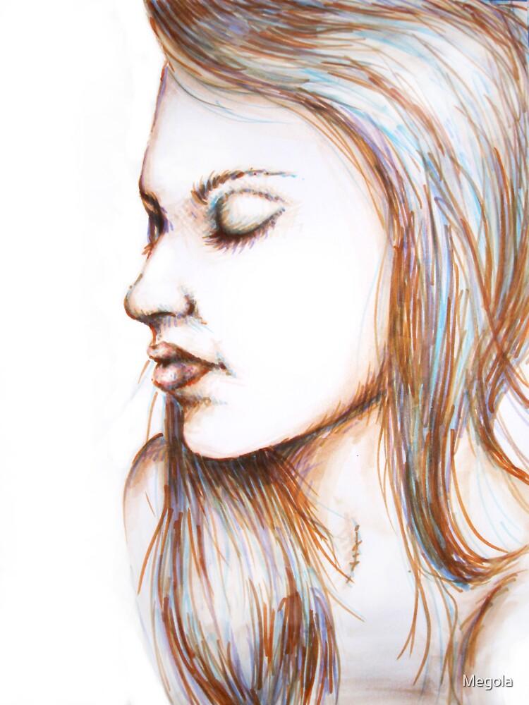 Girl 1 by Megola