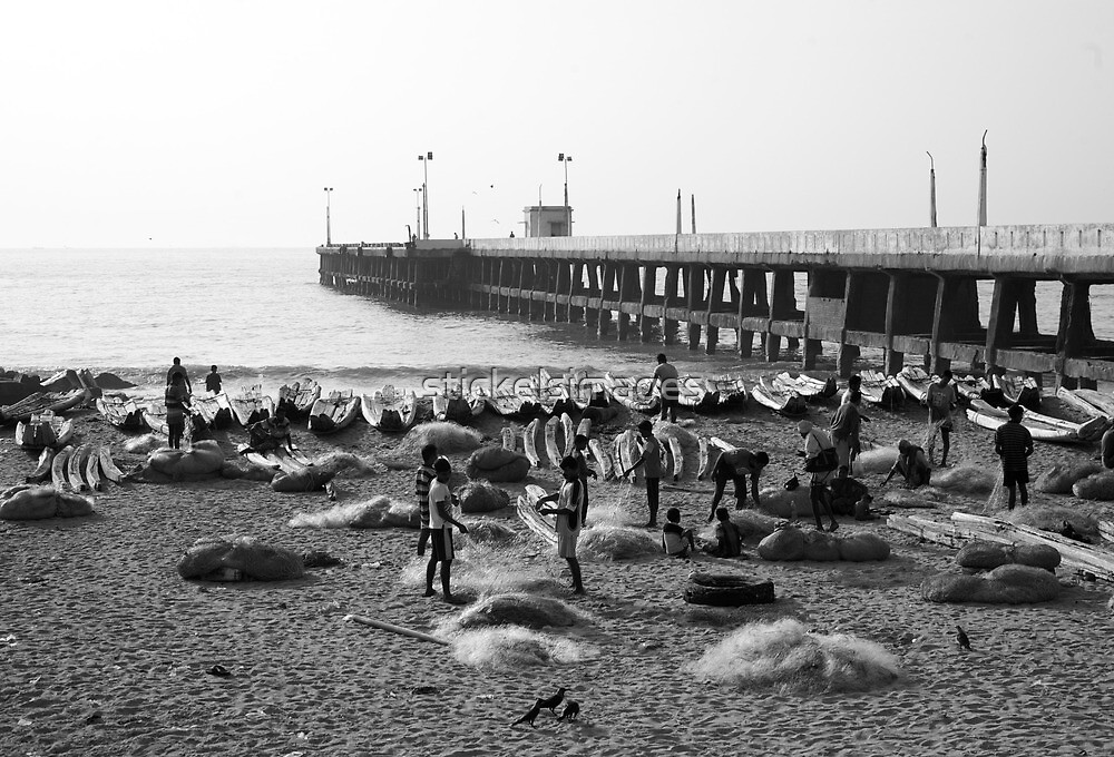 nets a pier by stickelsimages