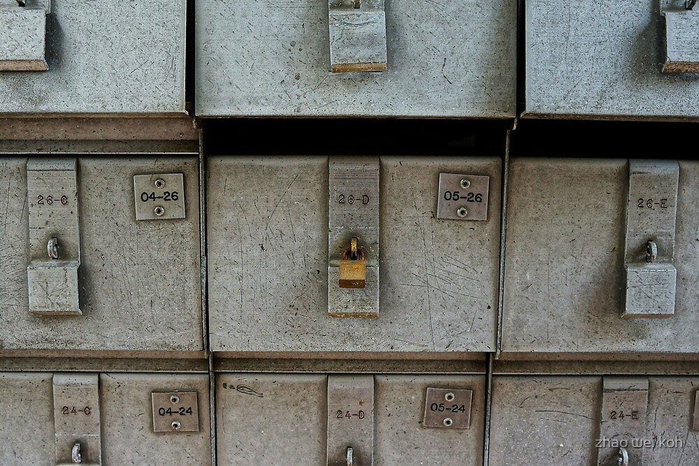 Old letterbox in Singapore by zhao wei koh