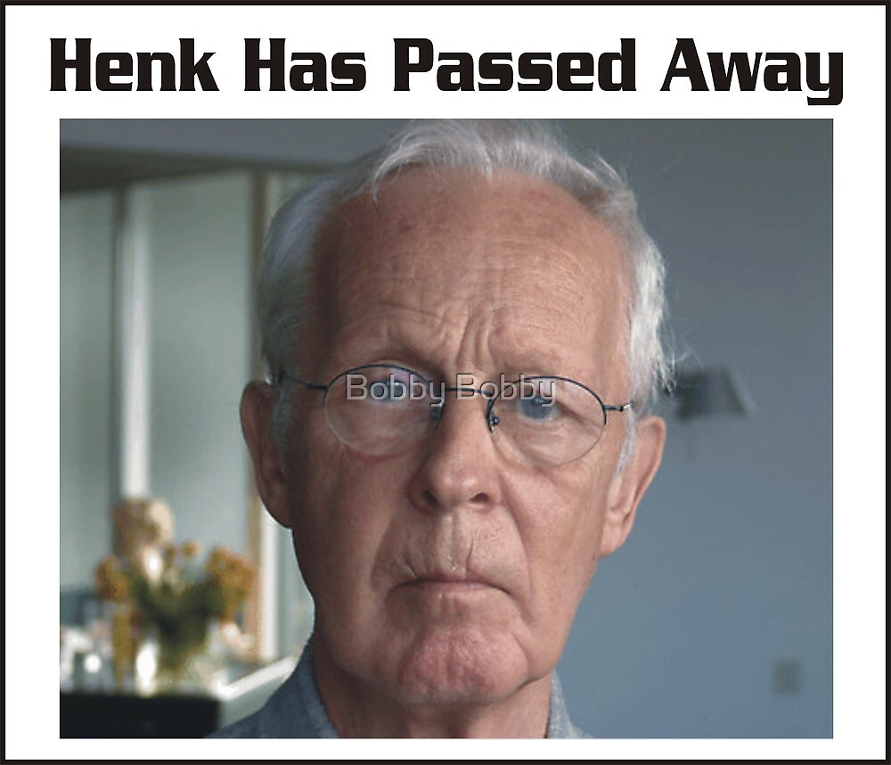 Henk......Miss you by Bobby Dar