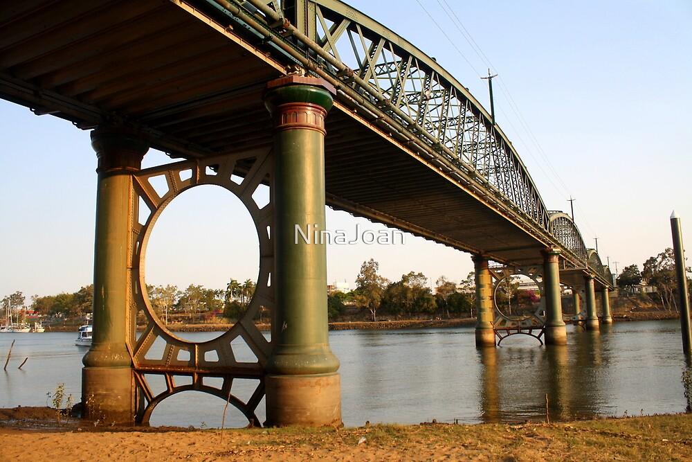 The Burnett River Bridge, Bundaberg by NinaJoan