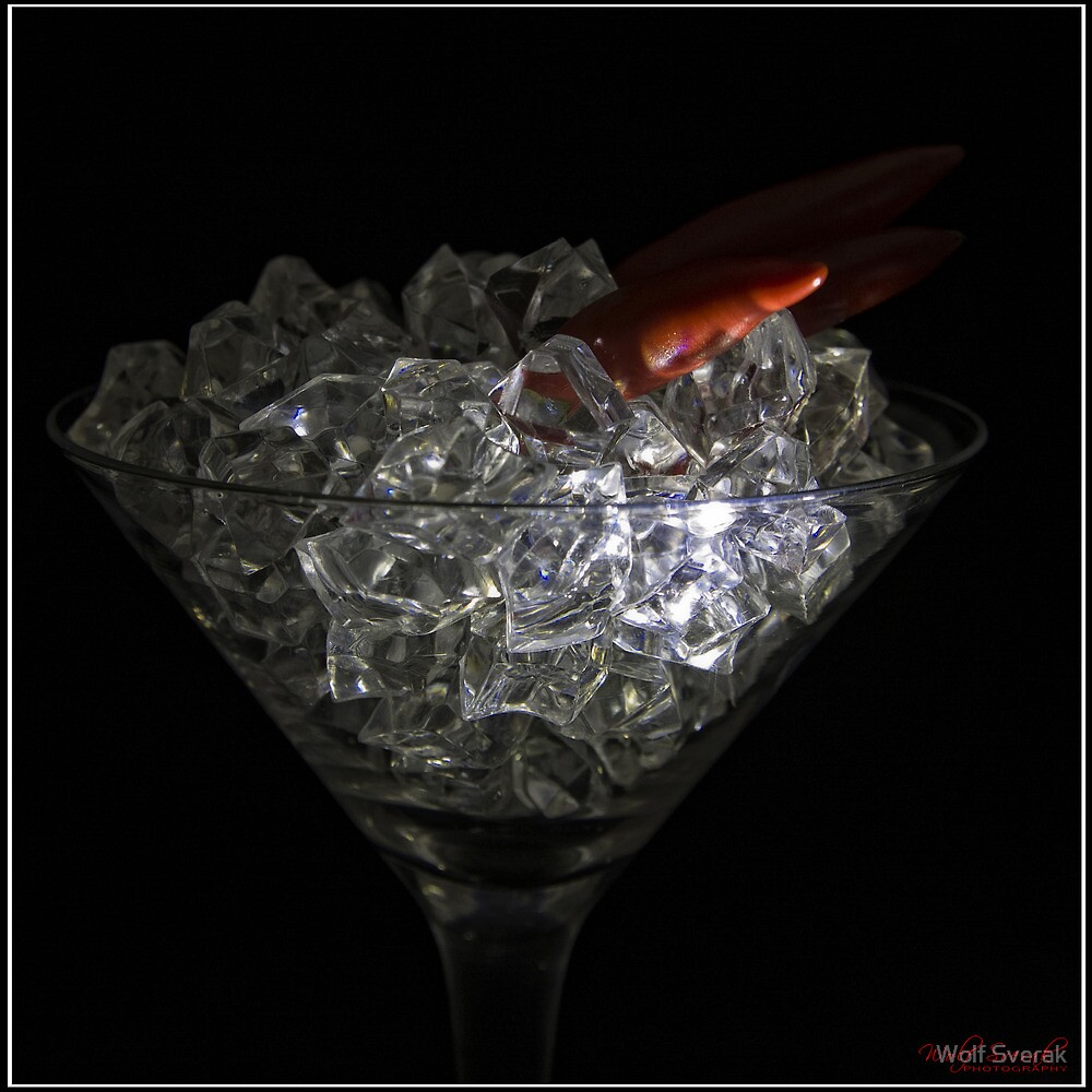 Diamond Martini with Chili - 1 by Wolf Sverak