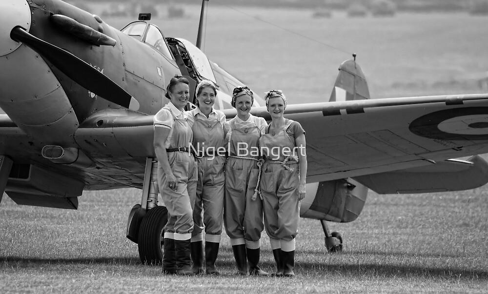 Spitfire Girls by Nigel Bangert