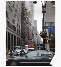 Fifth Avenue Poster