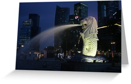 Merlion, Singapore by Tim Coleman