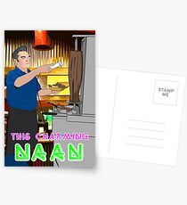 This Charming Naan Postcards