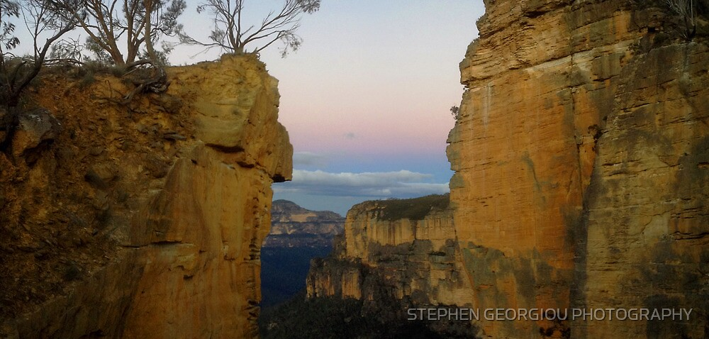 Sunset at Hanging Rock by STEPHEN GEORGIOU PHOTOGRAPHY