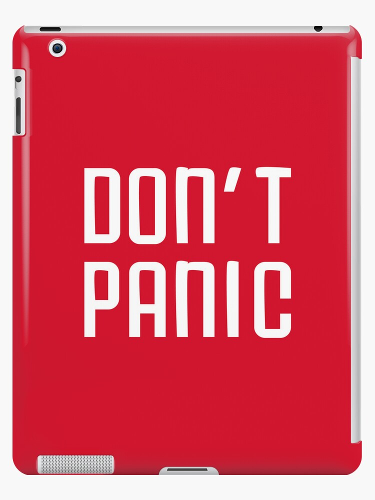 Don't Panic by frodosghost