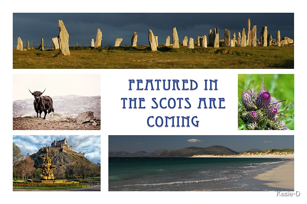 Banner: Featured in The Scots Are Coming by Kasia-D
