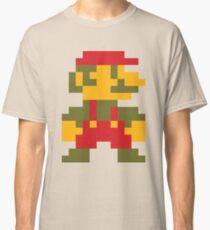 8 bit Mario V.2 Classic T-Shirt