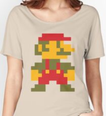 8 bit Mario V.2 Women's Relaxed Fit T-Shirt
