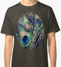 Peacock Feather's Color Classic T-Shirt