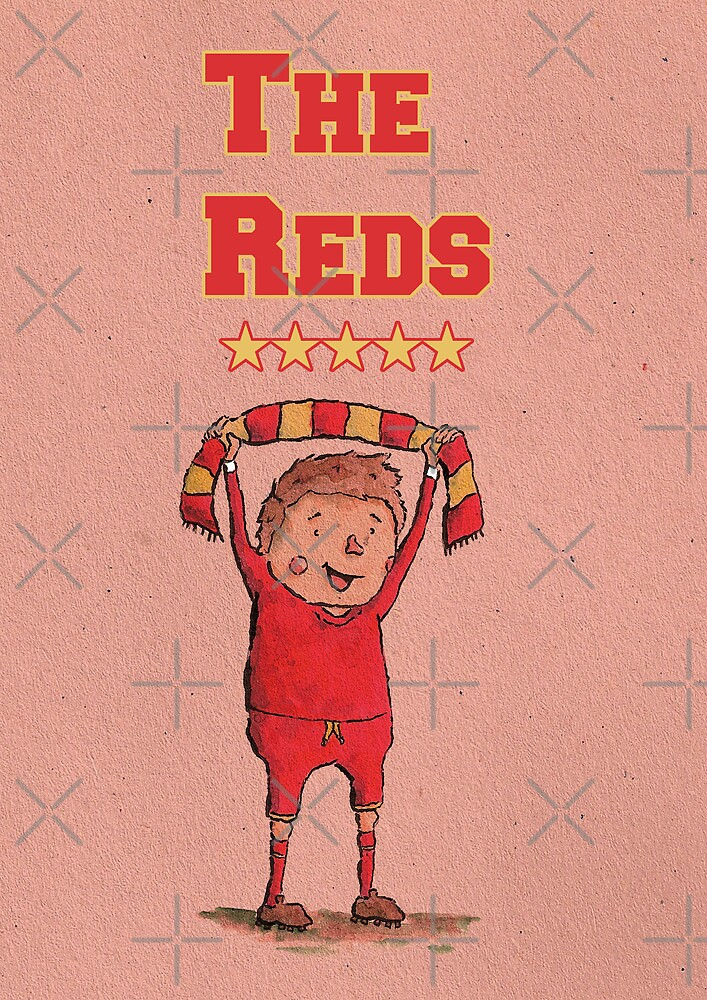 The Reds by Calum Margetts Illustration