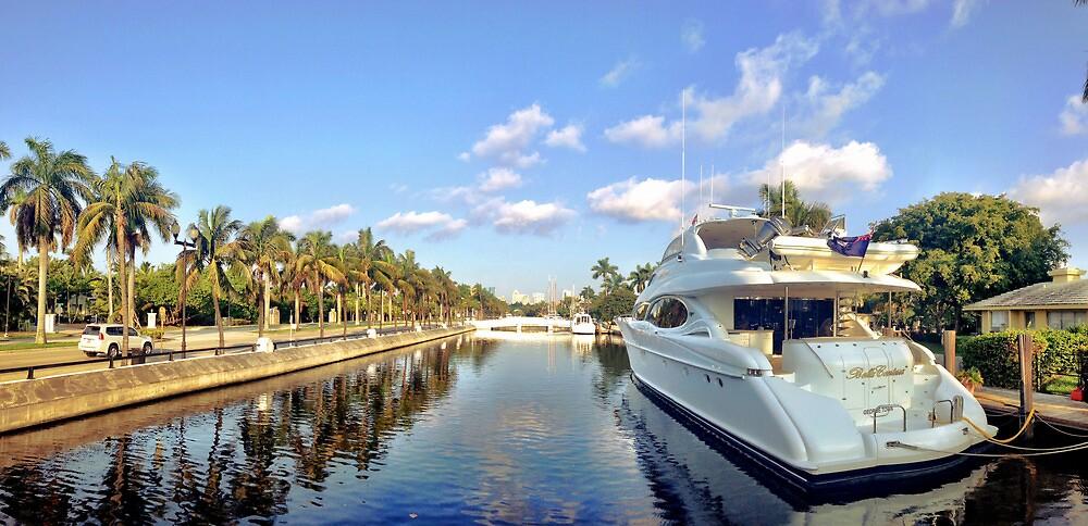 The waters along Las Olas Boulevard by Tropical Sun