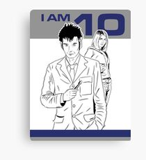 I am 10 Are You Canvas Print