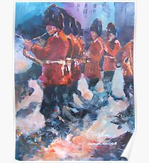 Soldiers - Marching British Guards Band Poster