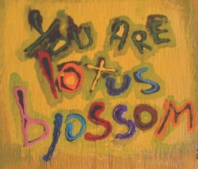 you are lotus blossom by songsforseba