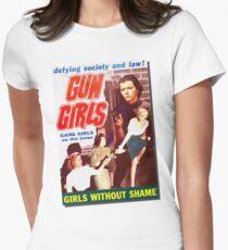 Gang Deb Gun Girls  Womens Fitted T-Shirt