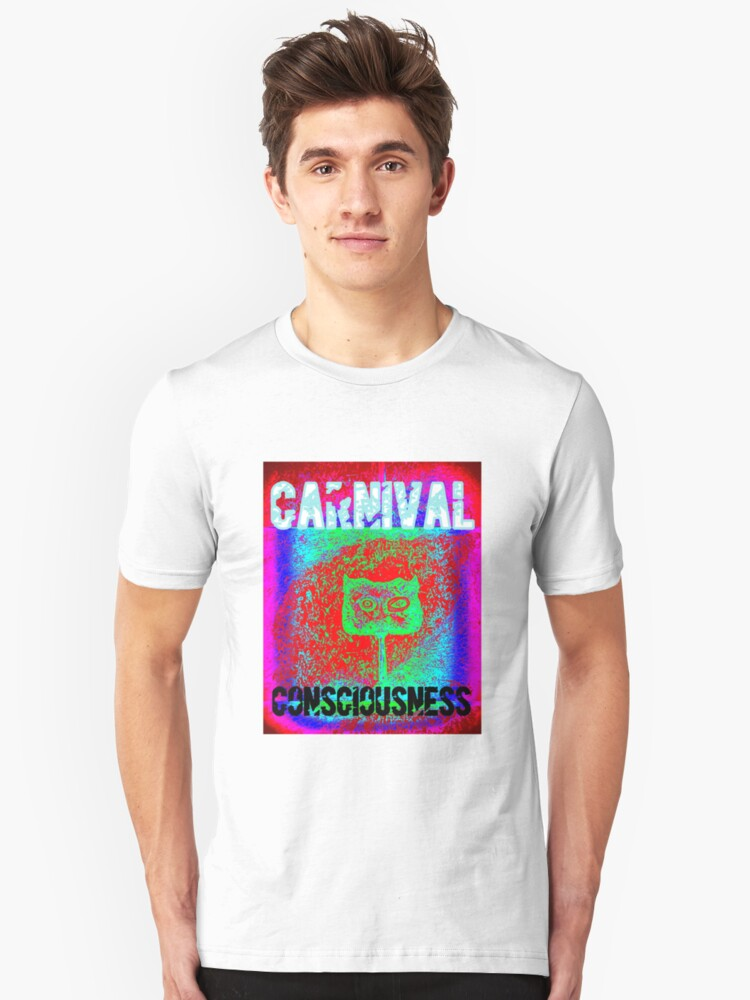 Carnival Conciousness digital remix T shirts Unisex T-Shirt Front