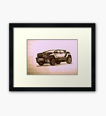 New Concept SUV Framed Print
