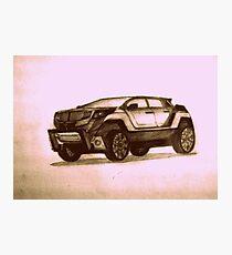 New Concept SUV Photographic Print