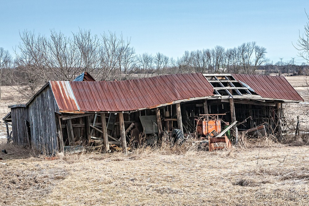 Old Shed IV by PhotosByHealy