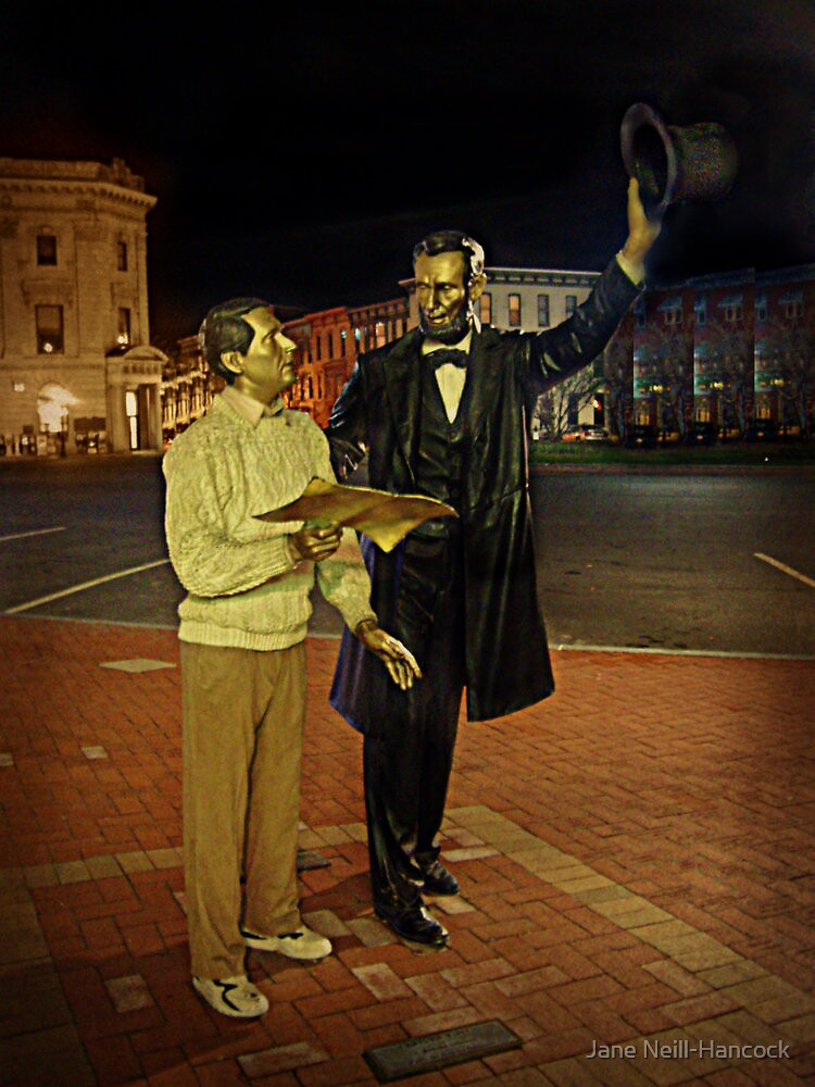 An Encounter With Abraham Lincoln by Jane Neill-Hancock
