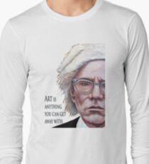 Mr. Warhol Long Sleeve T-Shirt