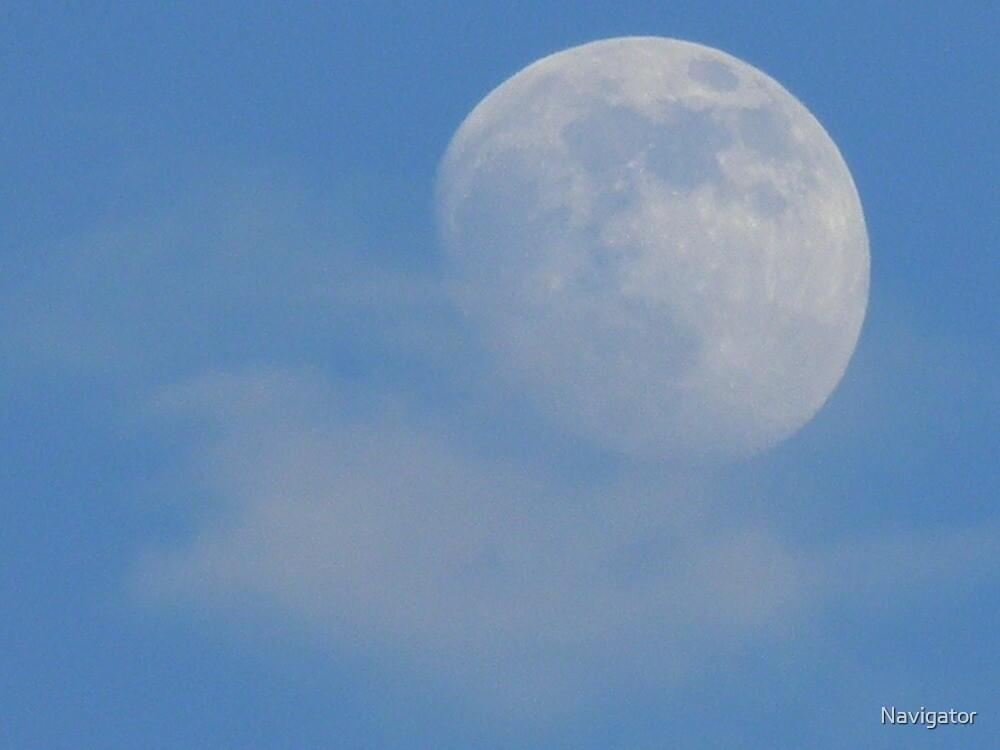 An Evening Moon by Navigator