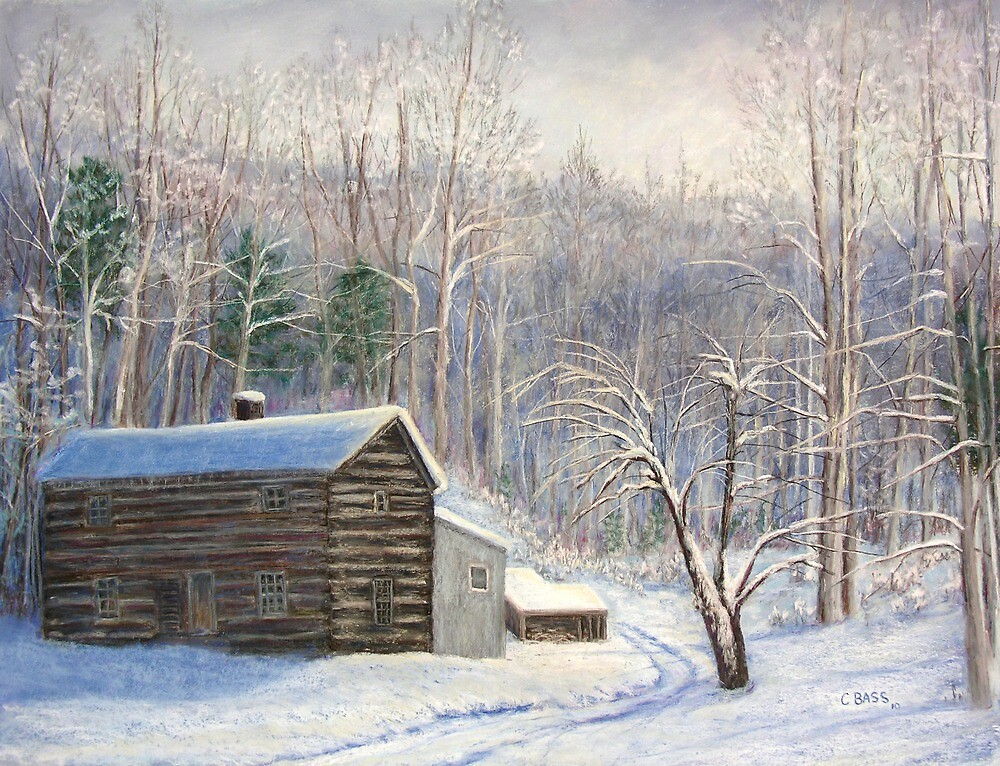 Larry's Cabin by Christine Bass