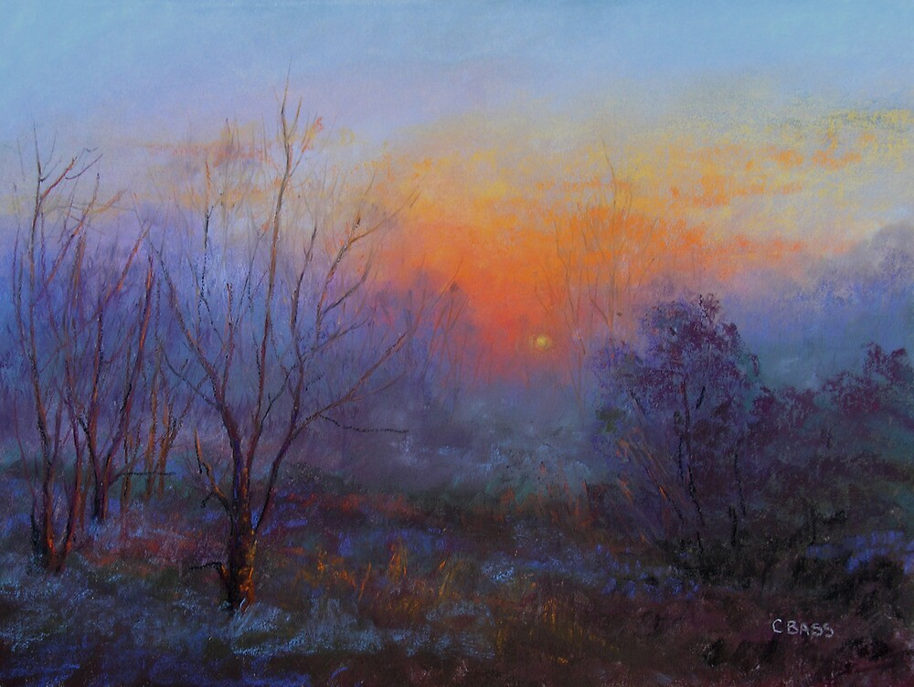 What An End To The Day by Christine Bass
