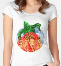 Beach Girls and the Monster Women's Fitted Scoop T-Shirt