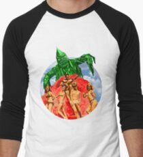 Beach Girls and the Monster Men's Baseball ¾ T-Shirt
