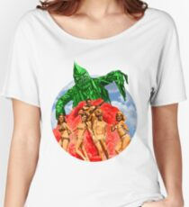 Beach Girls and the Monster Women's Relaxed Fit T-Shirt