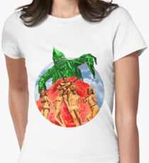 Beach Girls and the Monster Women's Fitted T-Shirt