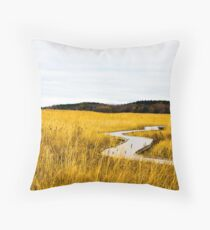 Field of Whispers Throw Pillow