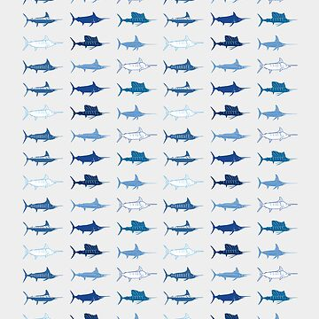 Royal Billfish Slam iPad Case by blackmarlinblog