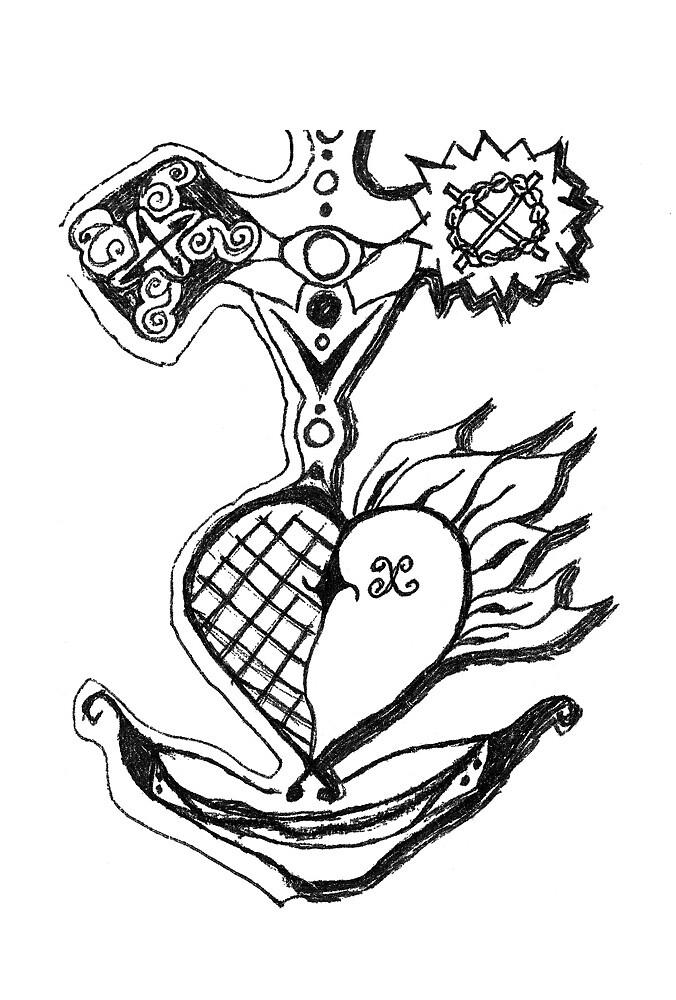 zimaul : slavonian heart by verivela