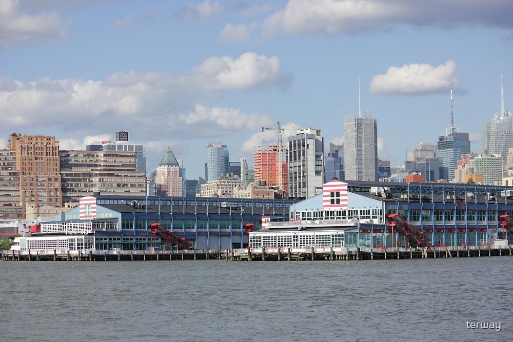 NYC coast by terway