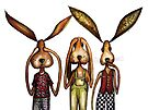 The three evils by Jenny Wood