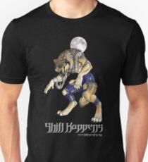 """Shift Happens"" Full Moon Werewolf T-Shirt"