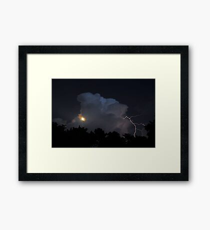 Apollo's Storm Framed Print