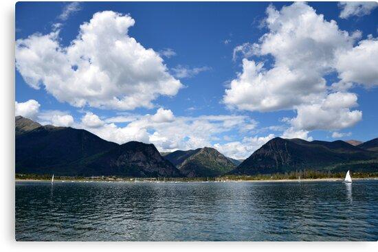 Mountain Lake In Summer by yobab