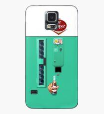 Vintage Dr. Pepper Vending Machine Case/Skin for Samsung Galaxy
