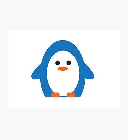 Peddler Penguin Photographic Print