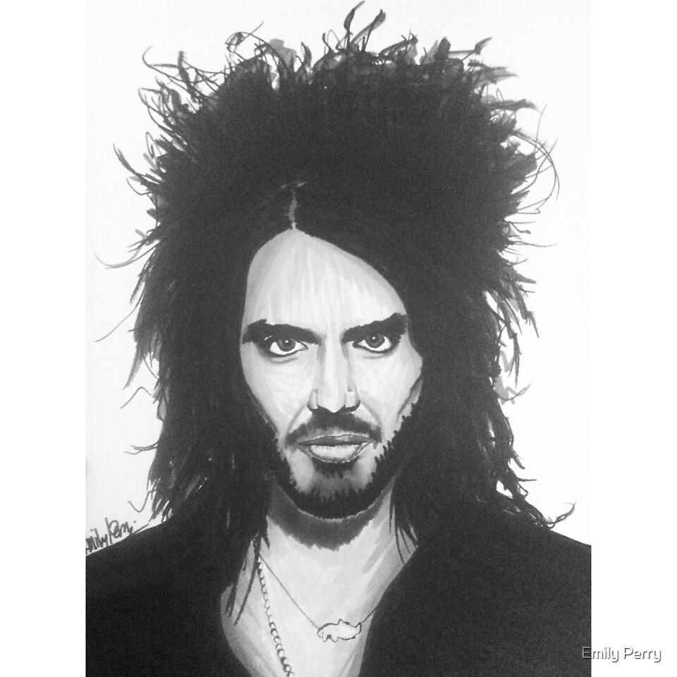 Russel Brand by Emily Perry
