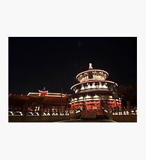 China at Night Photographic Print